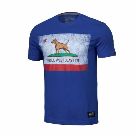T-Shirt Vintage Flag Royal Blue