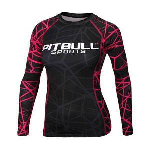 Longsleeve Rash Women Pink Ray