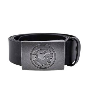 Original Leather Belt Bones Black