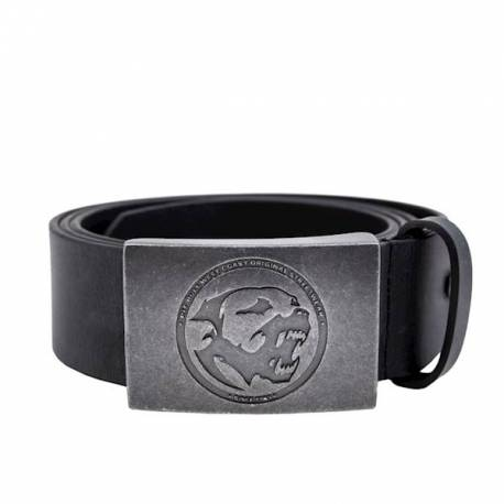 Original Leather Belt Bones Black