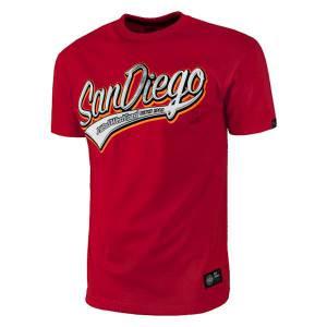 Camiseta Hombre San Diego Rojo