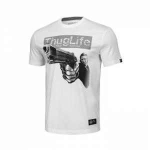 T-shirt Thug Life IV White