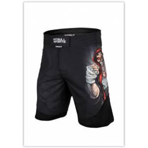 Grappling Shorts Skull Boxer