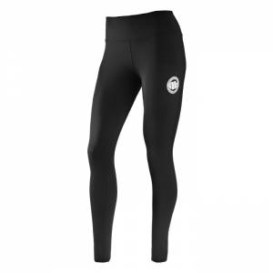 Women Compression Pants Basic Black