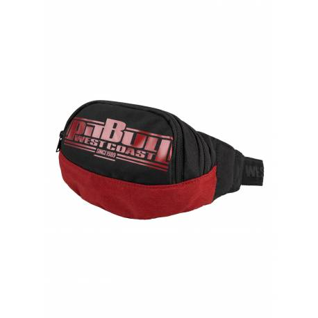 Waistbag Boxing Black Red