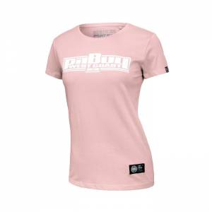 Women T-shirt Boxing Pink