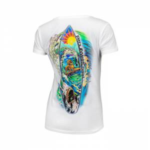 Women T-shirt Camino White