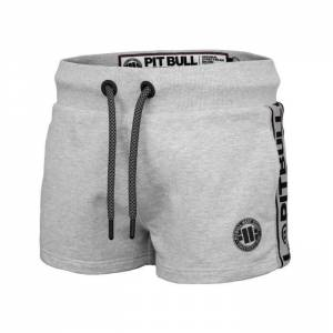 Short Mujer Small Logo French Teryy Grey