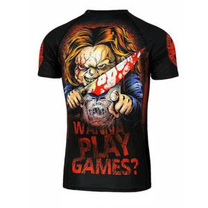Camiseta Rashguard Wanna Play Games