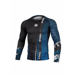 Charger Blue Long Sleeve Rashguard